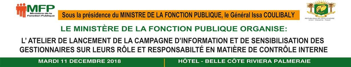 ATELIER DE LANCEMENT DE LA CAMPAGNE D'INFORMATION